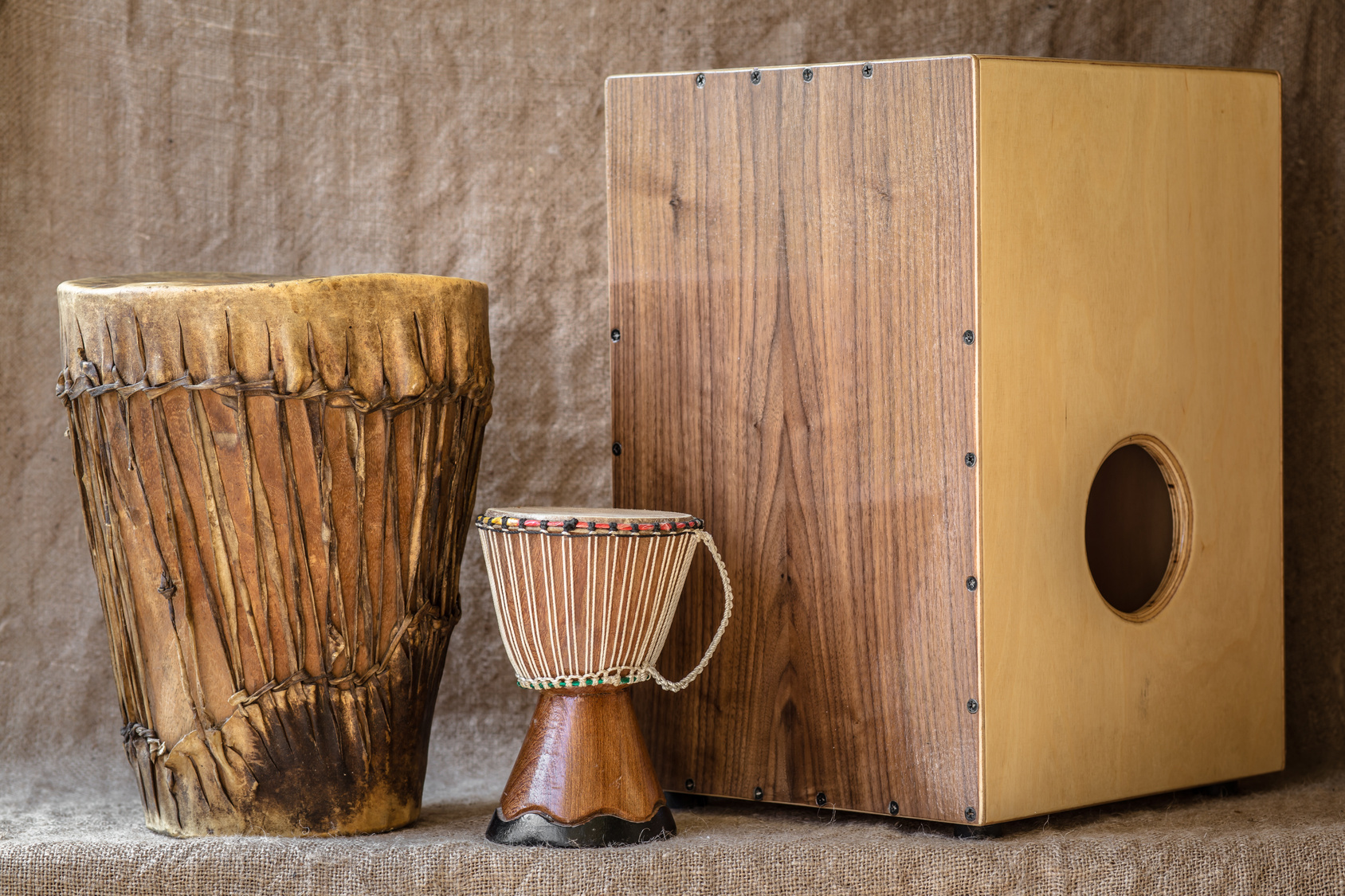 Percussion-Cajon-Xmondo